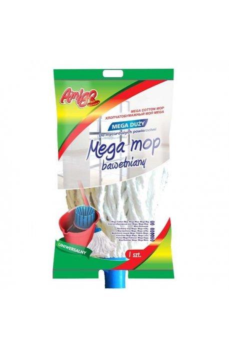 Wkłady zapasy do mopów - Wkład Do Mopa Bawełniany Mega 209 Gosia Amigo  -