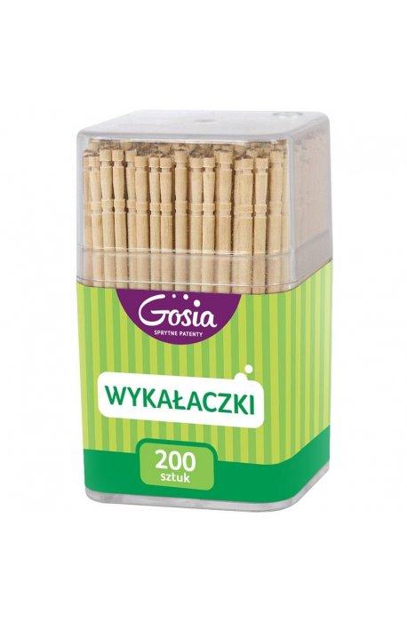 Jednorazówki, do grila - Wykałaczki w pudełku 200szt 4717  Gosia -