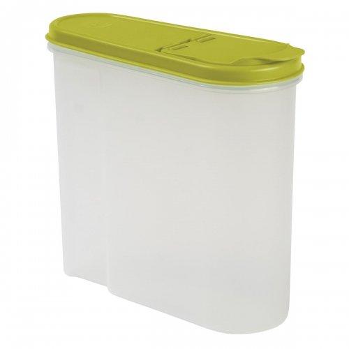 Pojemnik Na Płatki Śniadaniowe 1,25l Zielony 1041  Keeeper