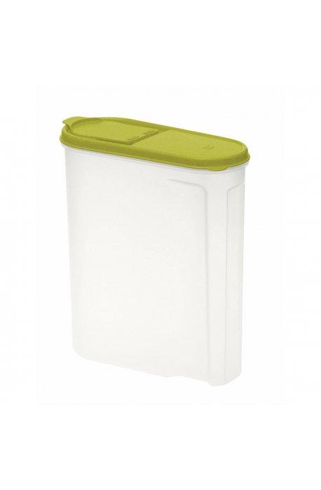 Pojemniki do żywności - Pojemnik Na Płatki Śniadaniowe 2,6l Zielony 1041  Keeeper -