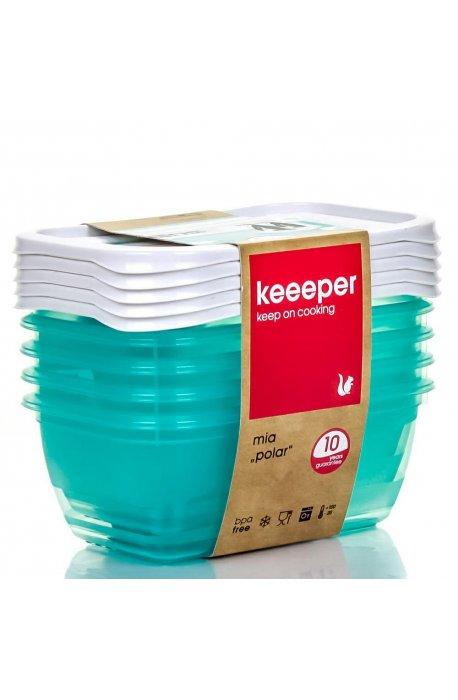 Pojemniki do żywności - Komplet Pojemników Polar 5x0,5l 3068 Keeeper -