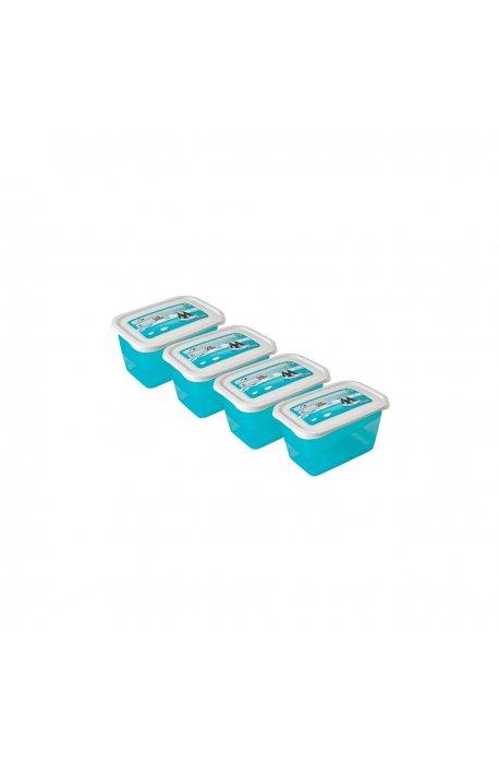 Pojemniki do żywności - Komplet Pojemników Polar 4x0,75l 3069 Keeeper -