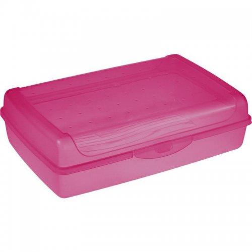 Pojemnik Na Ciasto Click-Box Maxi Różowy 3,7l 1069 Keeeper Luca