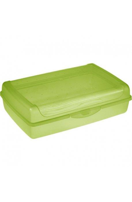Pojemniki na ciasto - Pojemnik Na Ciasto Click-Box Maxi Zielony 3,7l 1069 Keeeper Luca -
