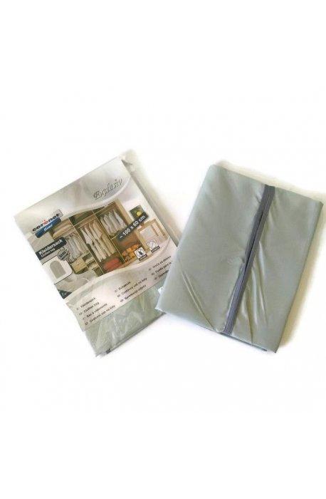 Pokrowce i wieszaki na ubrania - Pokrowiec Exclusiv Szary 60x100cm K808720805 Coronet -