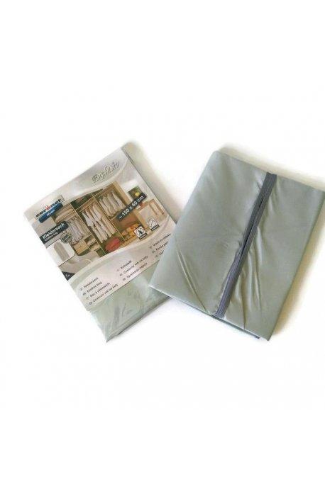 Pokrowce i wieszaki na ubrania - Pokrowiec Exclusiv Szary 60x150cm K808722805 Coronet -