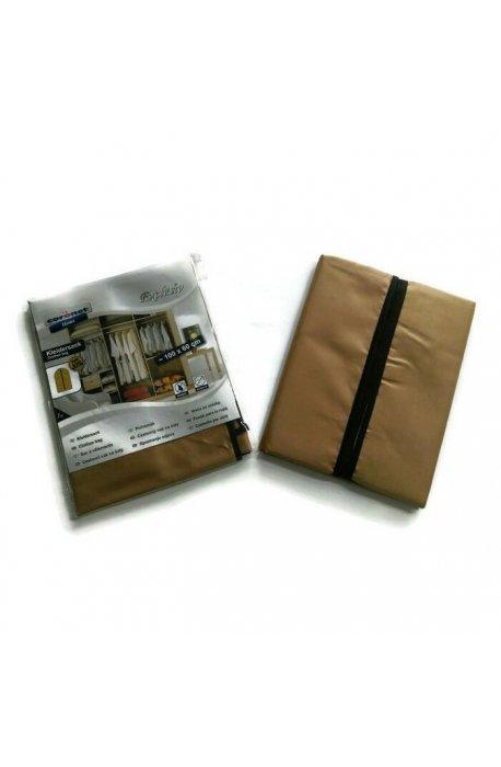 Pokrowce i wieszaki na ubrania - Pokrowiec Exclusiv Brązowy 60x100cm Coronet -