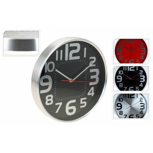 Zegar Ścienny Okrągły 29,5x4cm 3 Kolory H