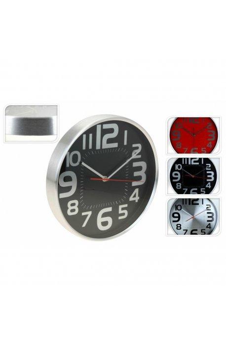 Wyprzedaż - Zegar Ścienny Okrągły 29,5x4cm 3 Kolory H -