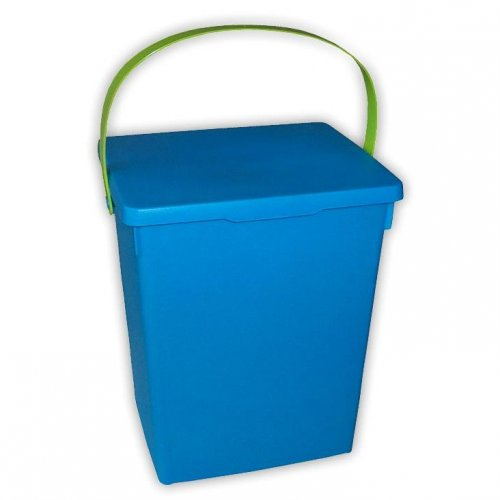 Pojemnik Na Proszek Niebieski Zielony Matowy 5l H