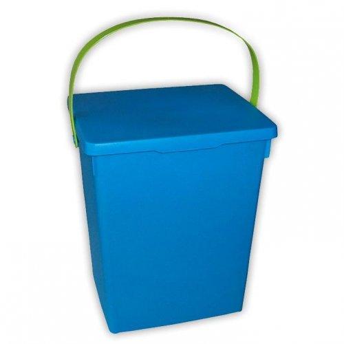 Pojemnik Na Proszek Niebieski Zielony Matowy H