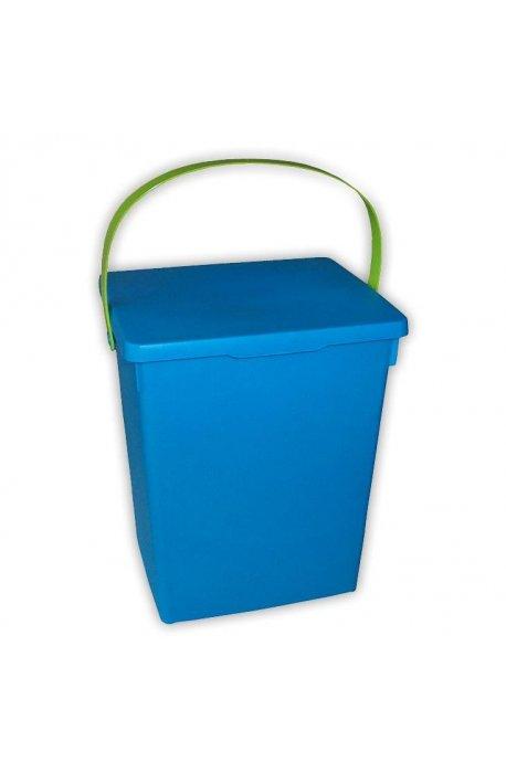 Pojemniki do proszku - Pojemnik Na Proszek Niebieski Zielony Matowy 5l H -
