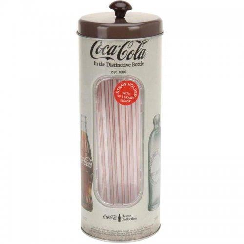 Puszka Na Słomki Coca-Cola Brązowa H