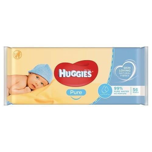 Chusteczki Nawilżone Huggies Pure 56szt