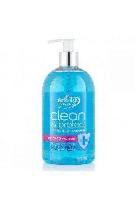 Mydła - Antybakteryjne Mydło W Płynie Clean and Protect 500ml Astonish -