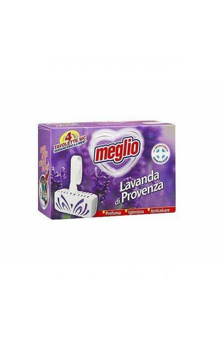Płyny do WC lub łazienki oraz koszyki zapachowe - Zawieszka Do Wc Toalet 4szt Zapach Lawendowy Meglio -