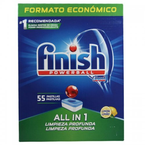 Tabletki Do Zmywarki Finish Powerball 55szt Lemon