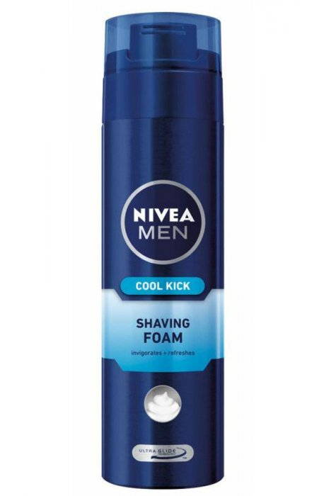 Pianki - Pianka Do Golenia Cool Klick 200ml Nivea Men -