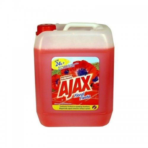 Płyn Uniwersalny 5l Kwiatowy Czerwony Ajax