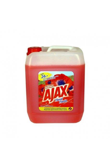Środki uniwersalne - Płyn Uniwersalny 5l Kwiatowy Czerwony Ajax -