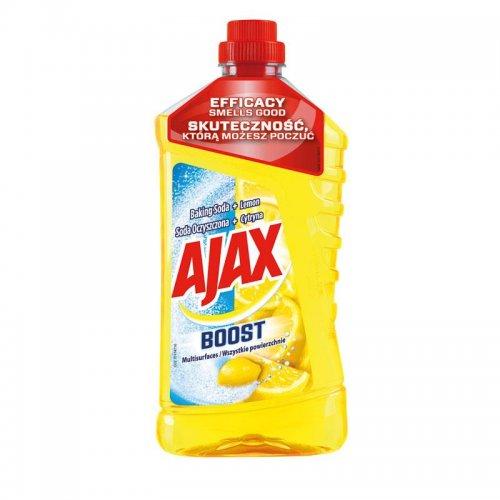 Płyn Uniwersalny Soda + Cytryna 1l Żółty Ajax