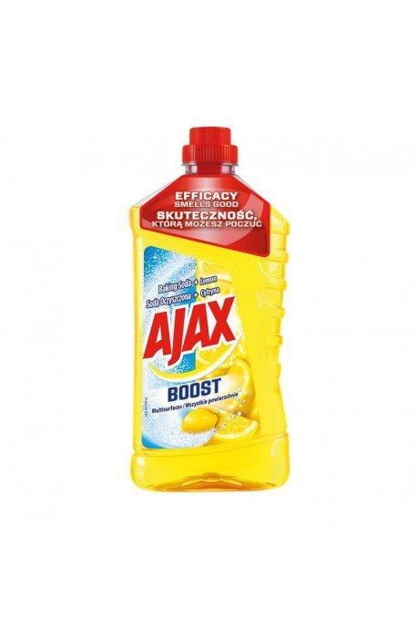 Środki uniwersalne - Płyn Uniwersalny Soda + Cytryna 1l Żółty Ajax -