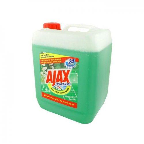 Płyn Uniwersalny 5l Konwaliowy Zielony Ajax