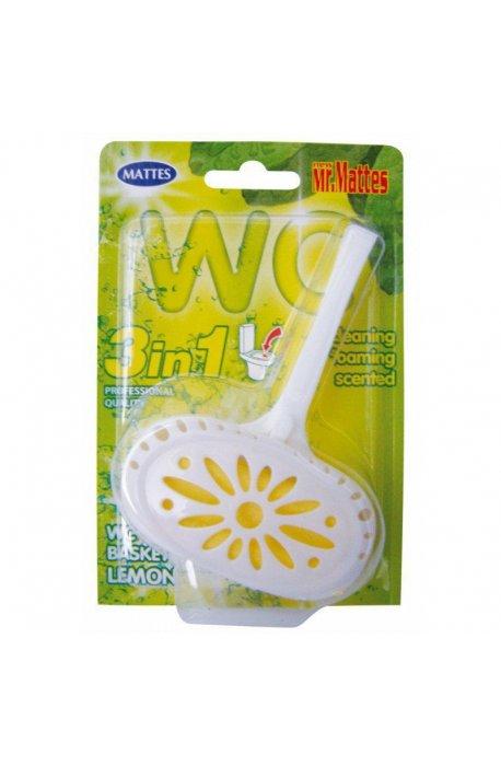 Płyny do WC lub łazienki oraz koszyki zapachowe - Koszyk Do Wc Mattes 40g Cytryna  -