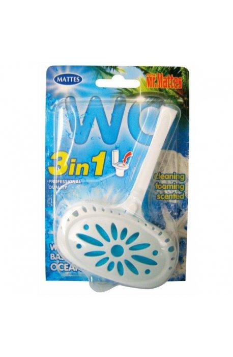 Płyny do WC lub łazienki oraz koszyki zapachowe - Koszyk Do Wc Mattes 40g Morski Sea  -