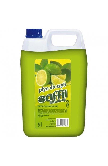 Płyny do szyb - Płyn Do Szyb Saffii 5l Limonkowy  -