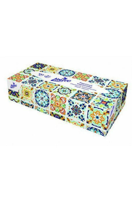 Chusteczki podpaski higieniczne - Chusteczki Higieniczne 100szt Karton Linteo -