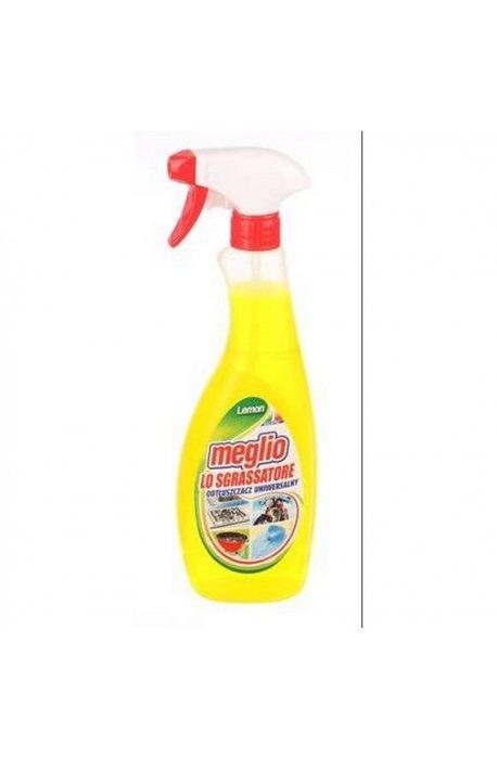 Płyny do grila - Odtłuszczacz Lemon 750ml Spray Meglio -