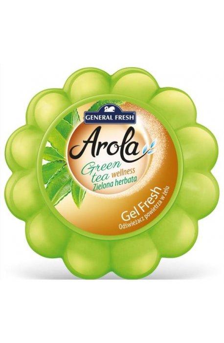 Odświeżacze do powietrza - Odświeżacz W Żelu Arola General Fresh Zielona Herbata 150g -