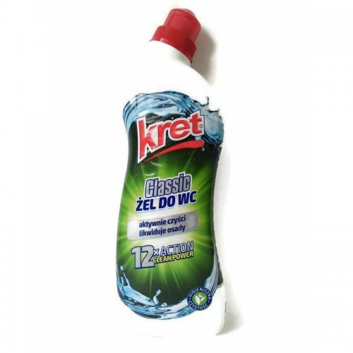 Kret Żel Do Wc Classic 7w1 750ml Zielony