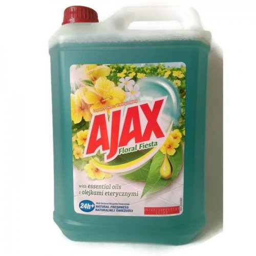 Płyn Uniwersalny 5l Kwiat Laguny Niebieski Ajax