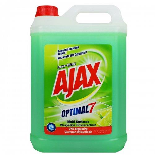 Płyn Uniwersalny 5l Lemon Jasno Zielony Ajax
