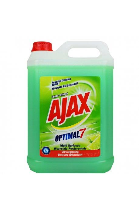 Środki uniwersalne - Płyn Uniwersalny 5l Lemon Jasno Zielony Ajax -