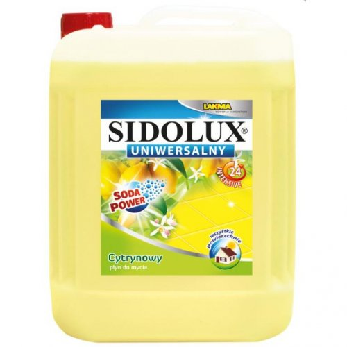 Płyn Uniwersalny 5l Cytrynowy Żółty Sidolux