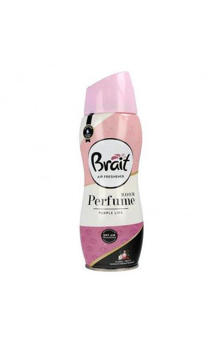 Odświeżacze do powietrza - Odświeżacz Brait Perfume Room 300ml Purple Lips -