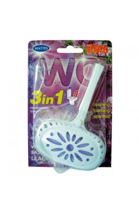 Płyny do WC lub łazienki oraz koszyki zapachowe - Koszyk Do Wc Mattes 40g Bez Lilac  -