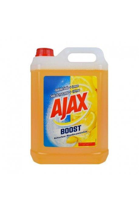 Środki uniwersalne - Płyn Uniwersalny 5l Soda+Cytryna Żółty Ajax -