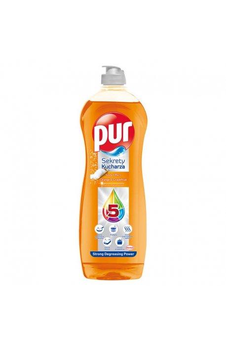 Płyny do naczyń - Płyn Do Mycia Naczyń 750ml Orange Grapefruit Pur -