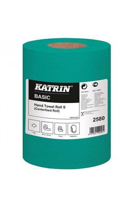 Papiery, ręczniki kuchenne - Ręcznik Basic Zielony 60m 2580  Katrin -