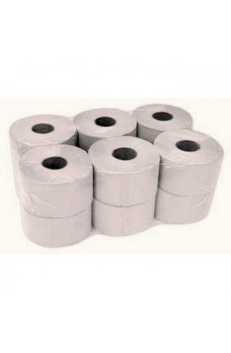 Papiery toaletowe - Papier Toaletowy Jumbo Szary Standard T130 -
