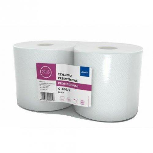 Czyściwo Przemysłowe C300/2 Białe 100% Celuloza Lamix