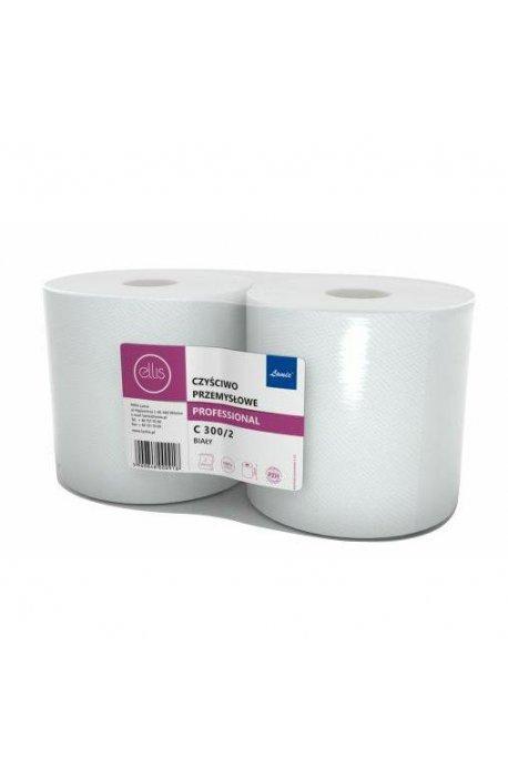 Czyściwa, papiery, pady - Czyściwo Przemysłowe C300/2 Białe 100% Celuloza Lamix -