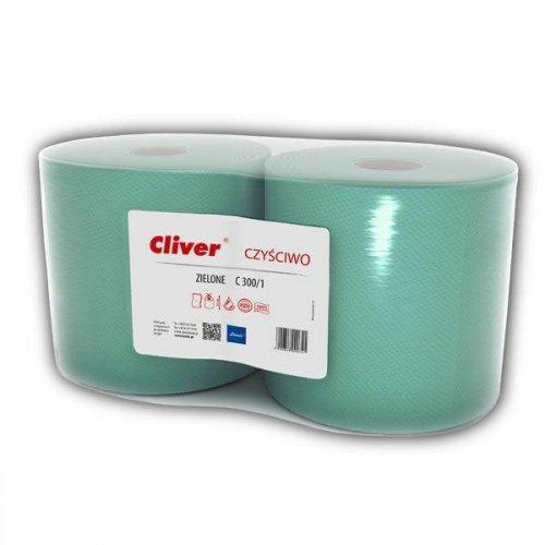 Czyściwo Przemysłowe C300/1 Zielon Makulatura Lamix