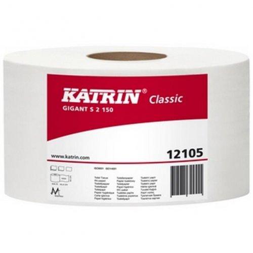 Papier Toaletowy Gigant S2 130 121050 Biały Katrin