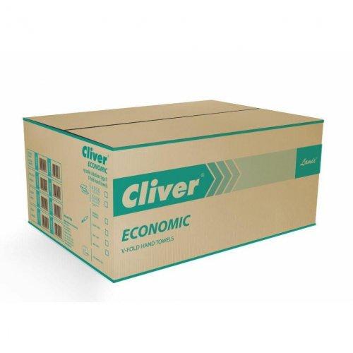 Ręcznik ZZ Biały 4000 Economic Cliver