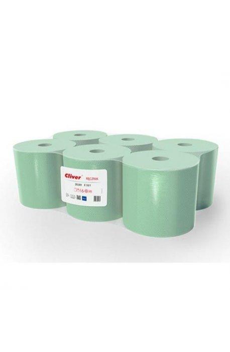 Papiery, ręczniki kuchenne - Ręcznik Midi R130/1 Zielony Standard Cliver -